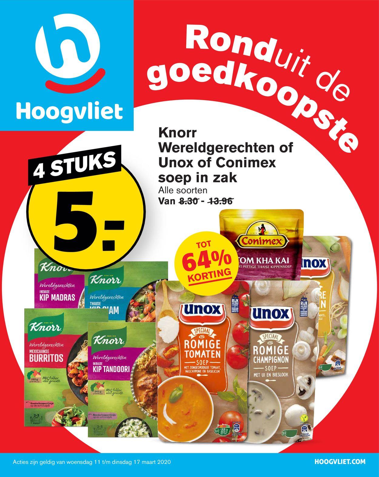 Hoogvliet Folder - 11.03-17.03.2020