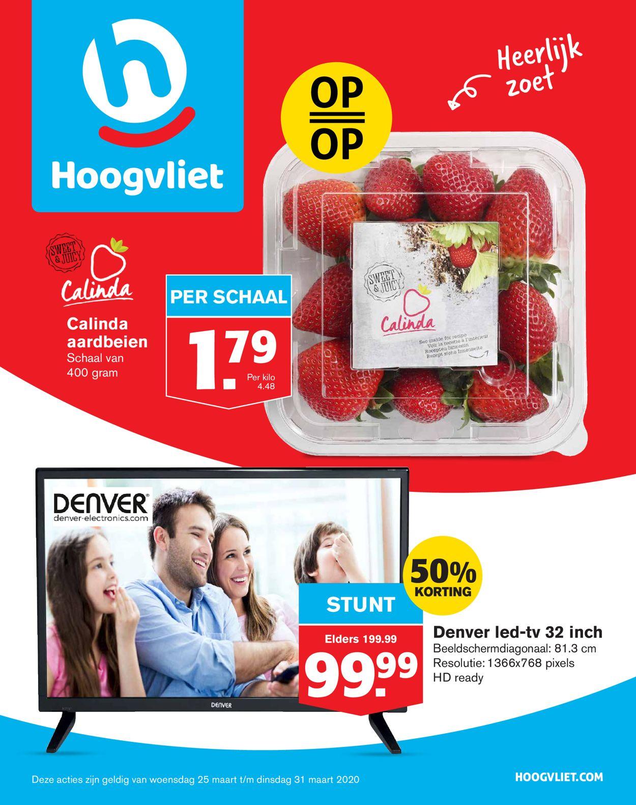 Hoogvliet Folder - 25.03-31.03.2020
