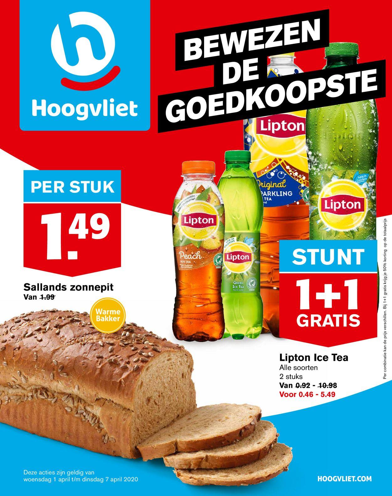 Hoogvliet Folder - 01.04-07.04.2020