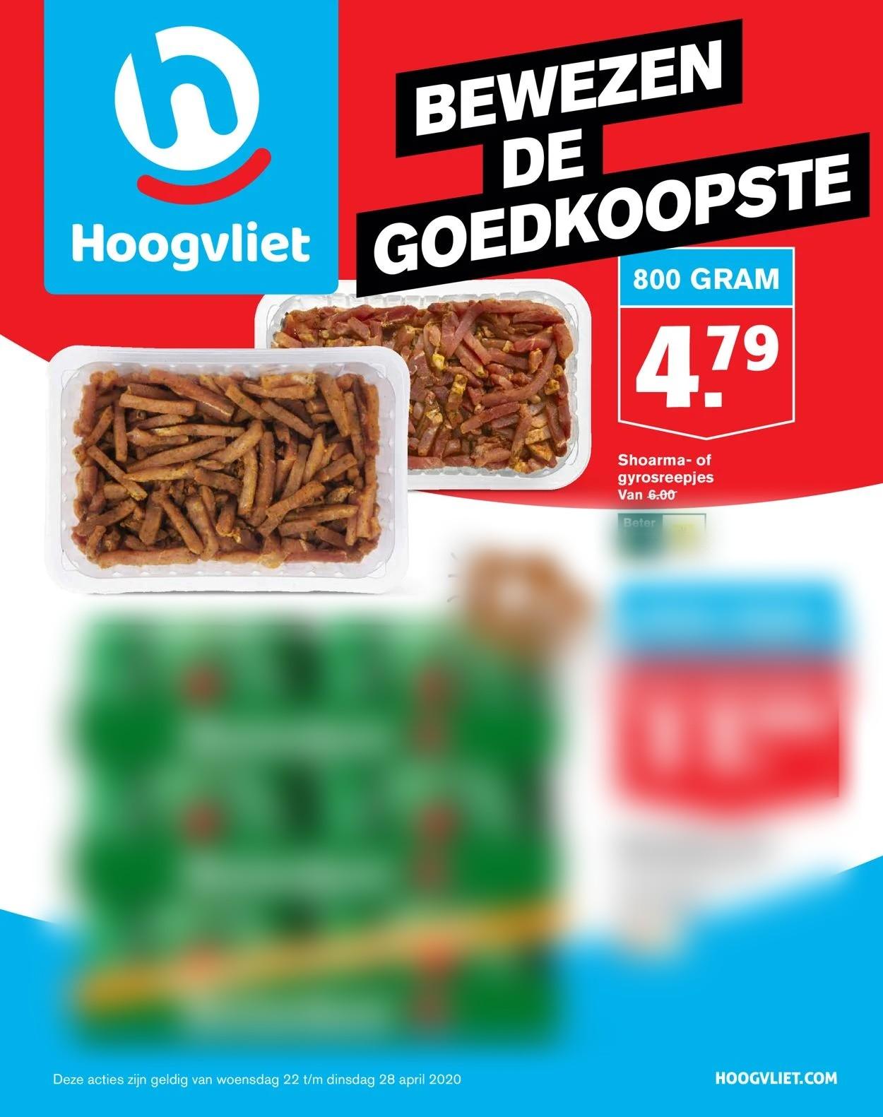 Hoogvliet Folder - 22.04-28.04.2020