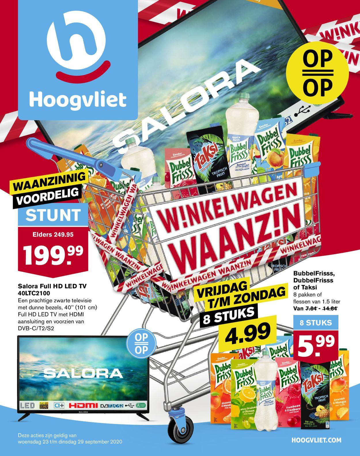 Hoogvliet Folder - 23.09-29.09.2020