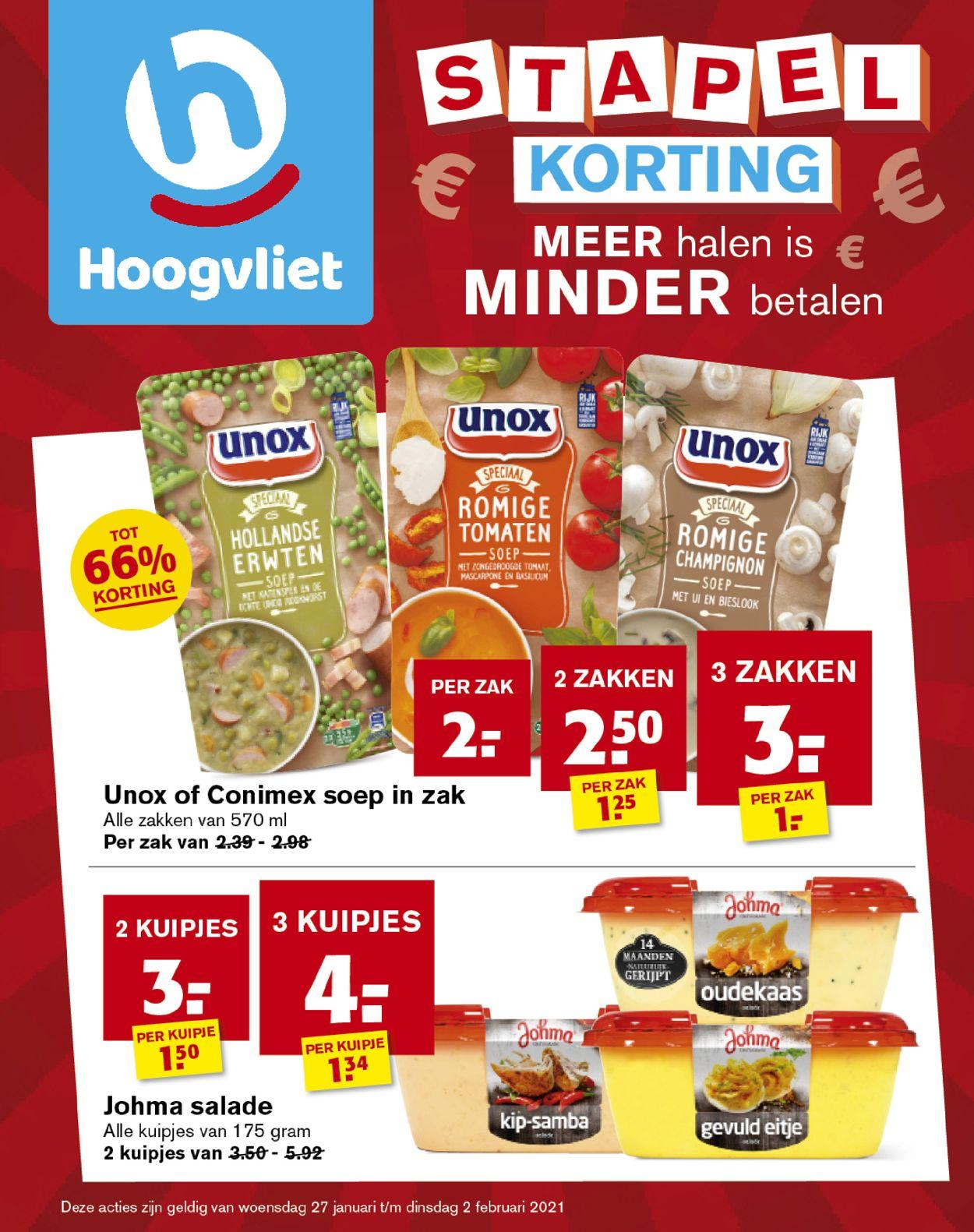 Hoogvliet Folder - 27.01-02.02.2021