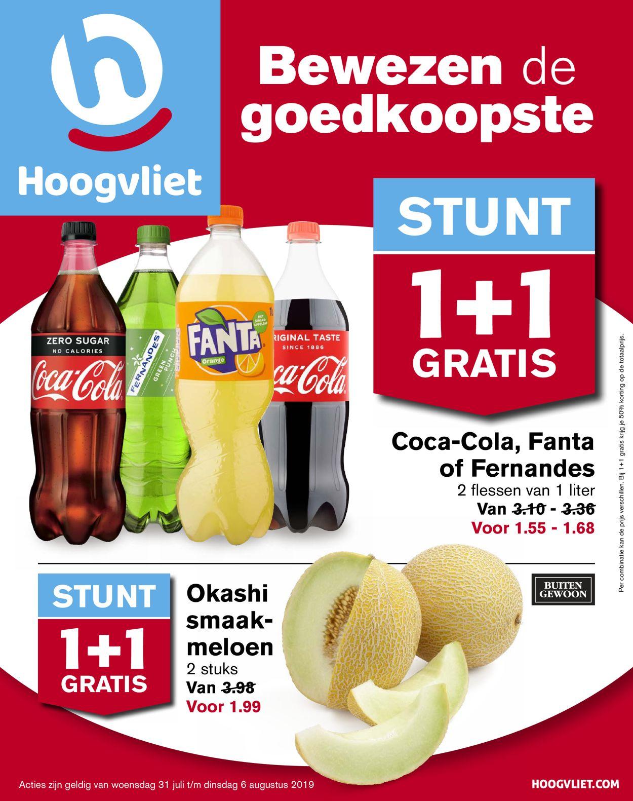Hoogvliet Folder - 31.07-06.08.2019