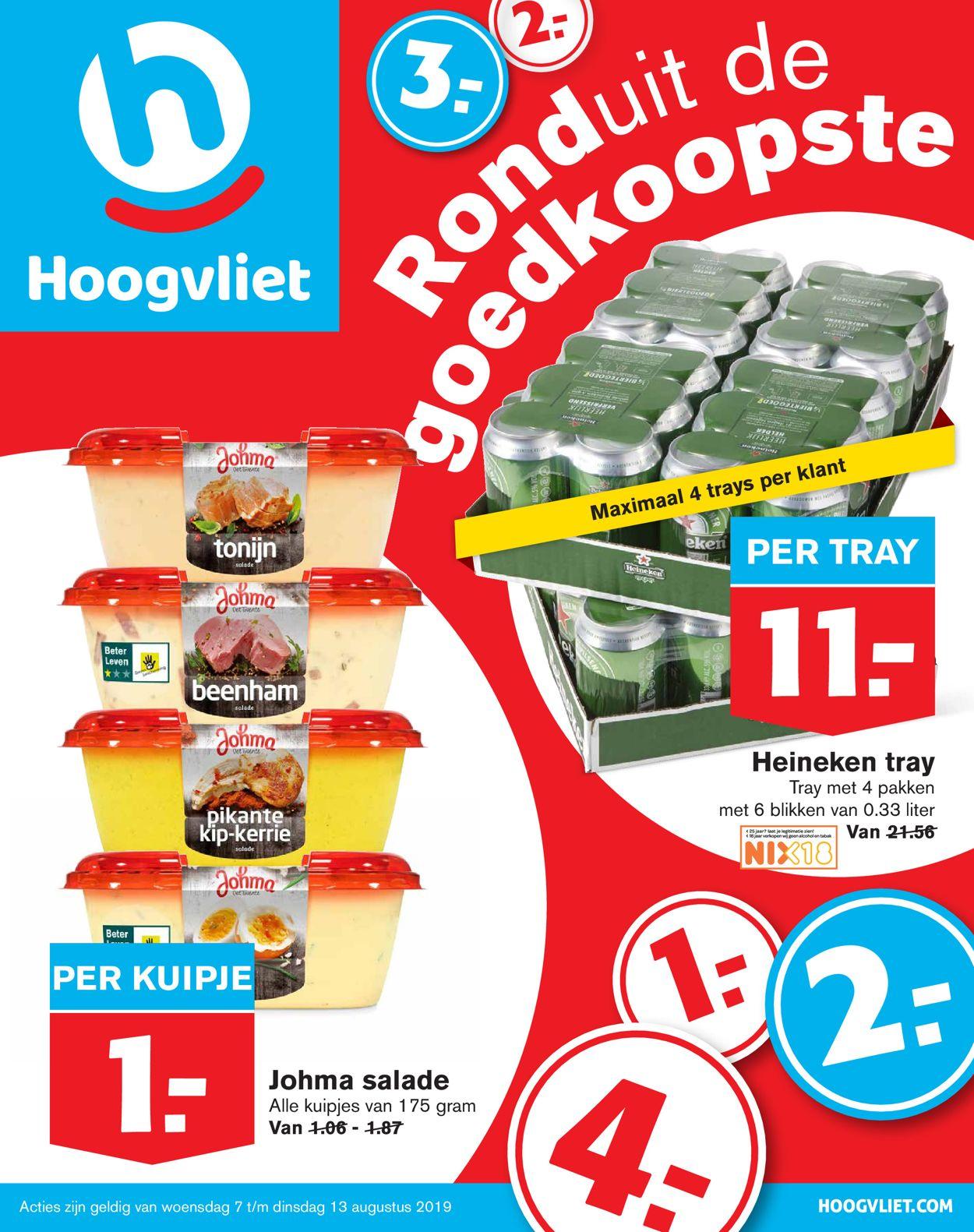 Hoogvliet Folder - 07.08-13.08.2019