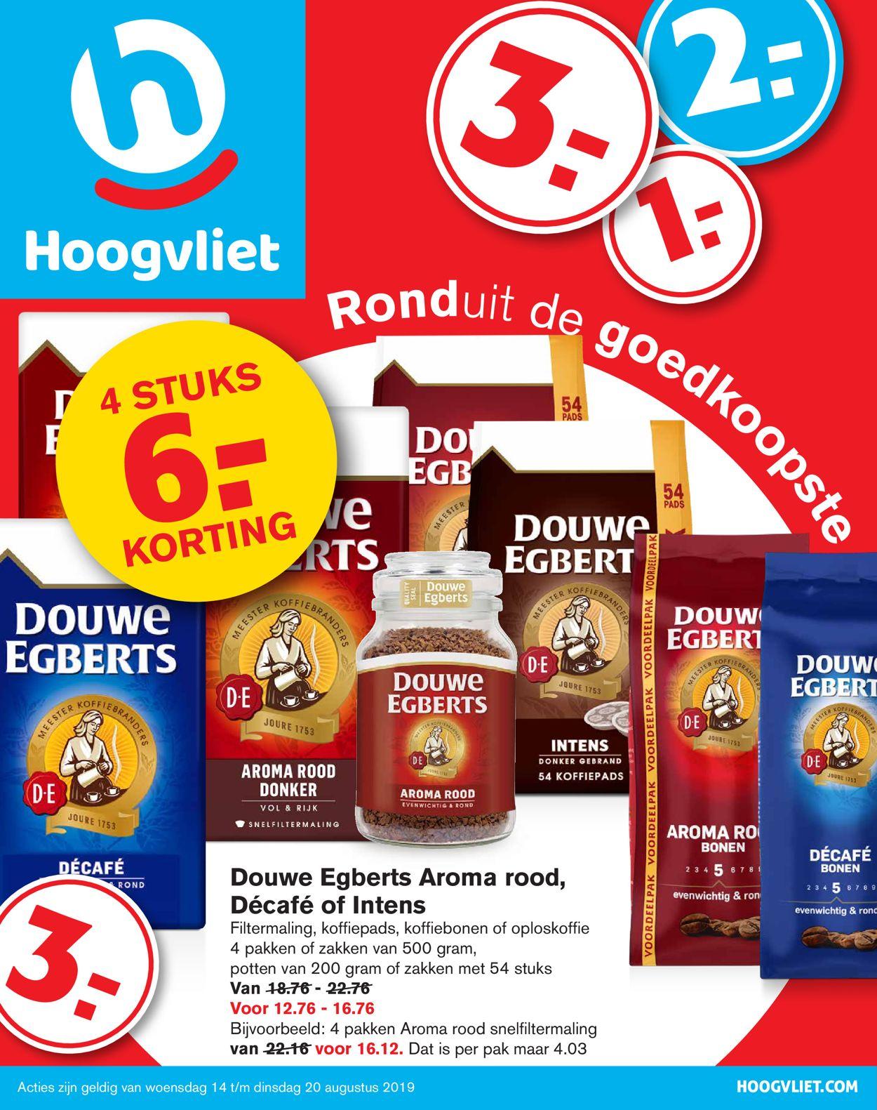 Hoogvliet Folder - 14.08-20.08.2019