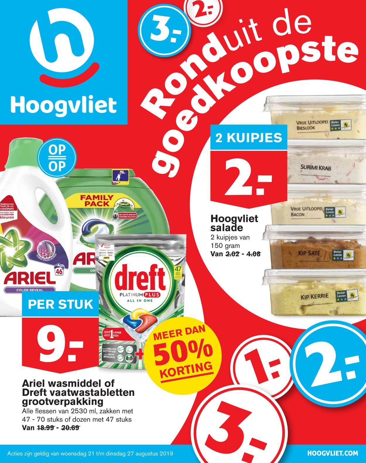 Hoogvliet Folder - 21.08-27.08.2019