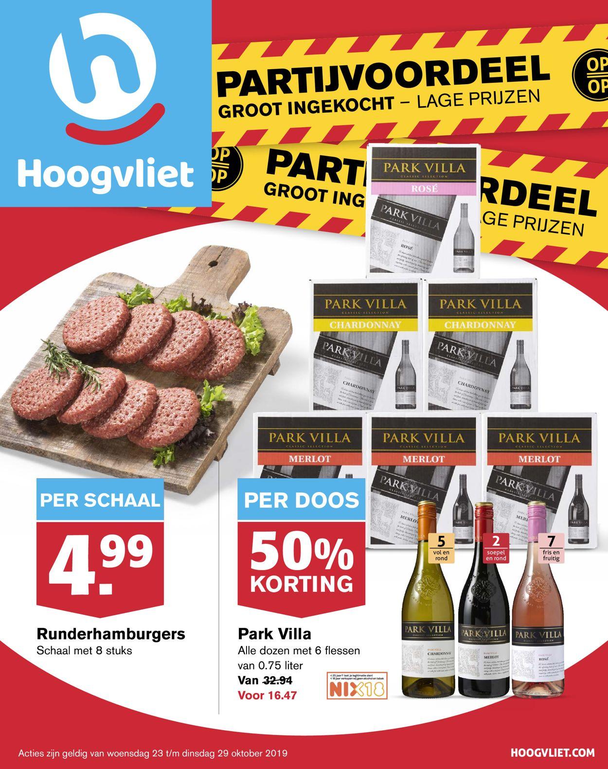 Hoogvliet Folder - 23.10-29.10.2019