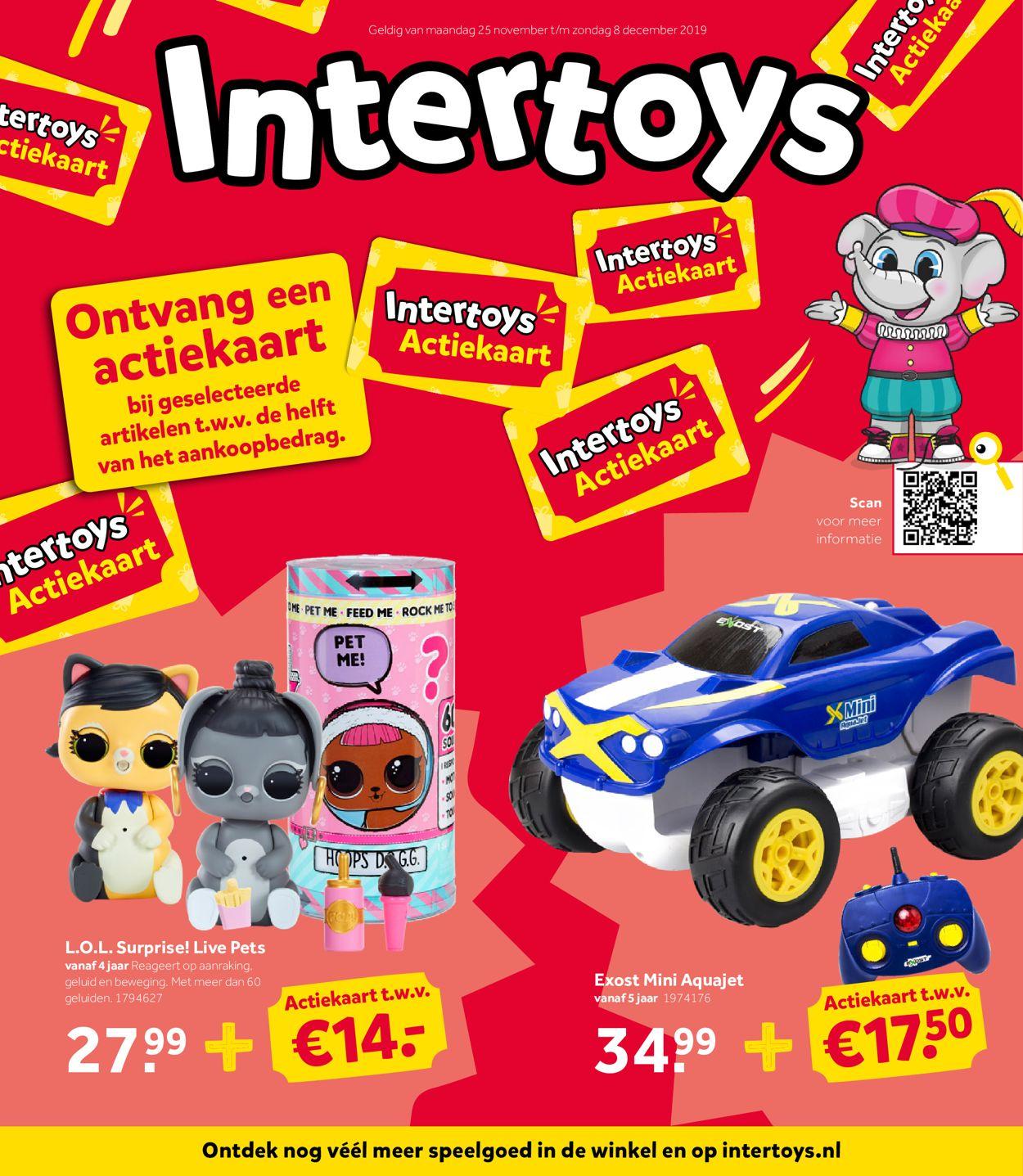 Intertoys - Black Friday 2019 Folder - 25.11-08.12.2019