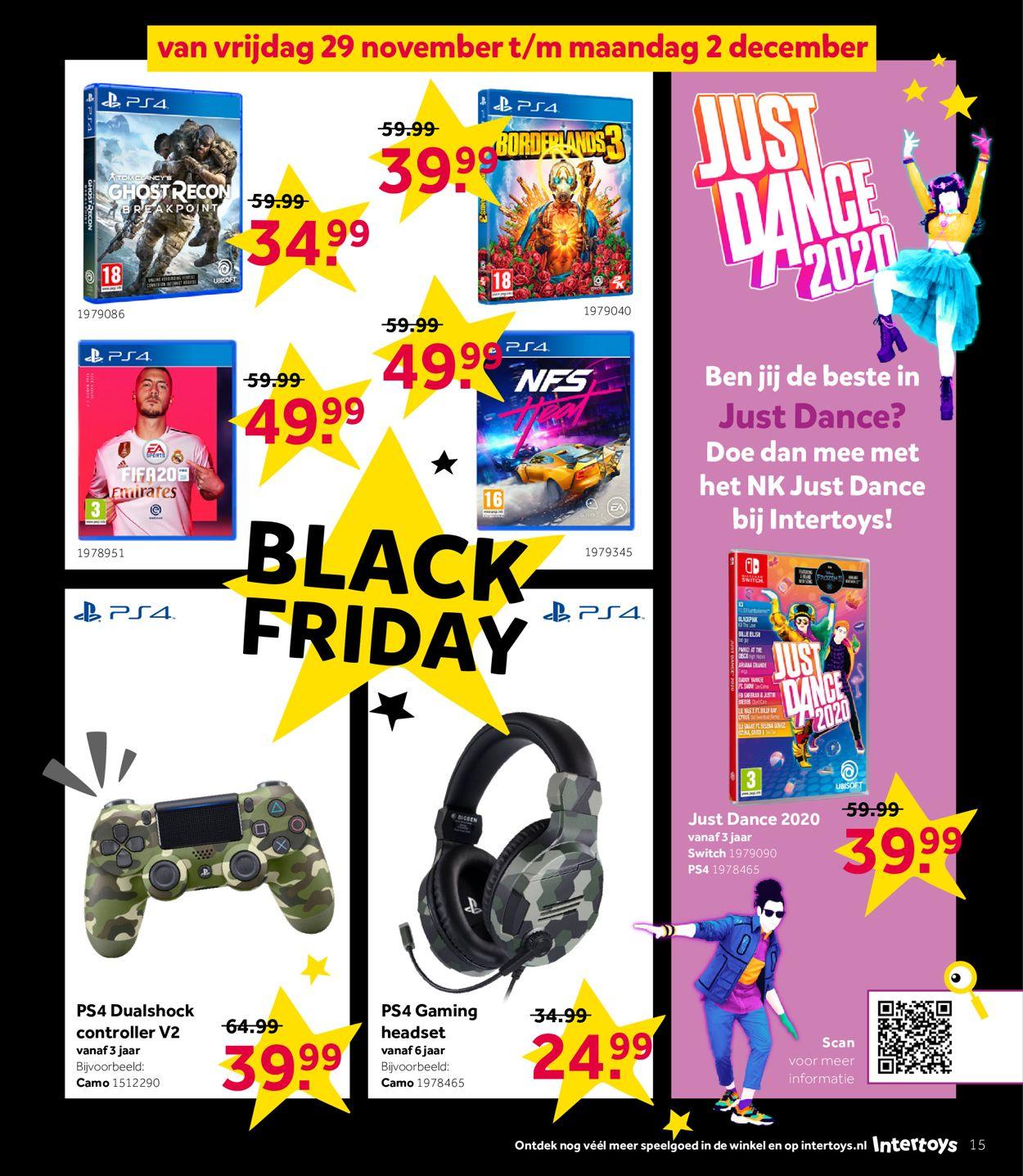 Intertoys - Black Friday 2019 Folder - 25.11-08.12.2019 (Pagina 15)