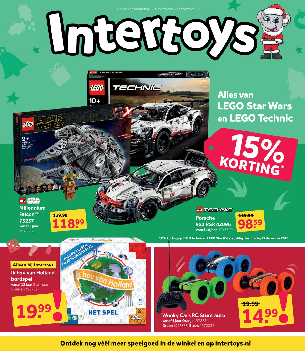 Intertoys kerstaanbieding 2019 Folder - 16.12-29.12.2019