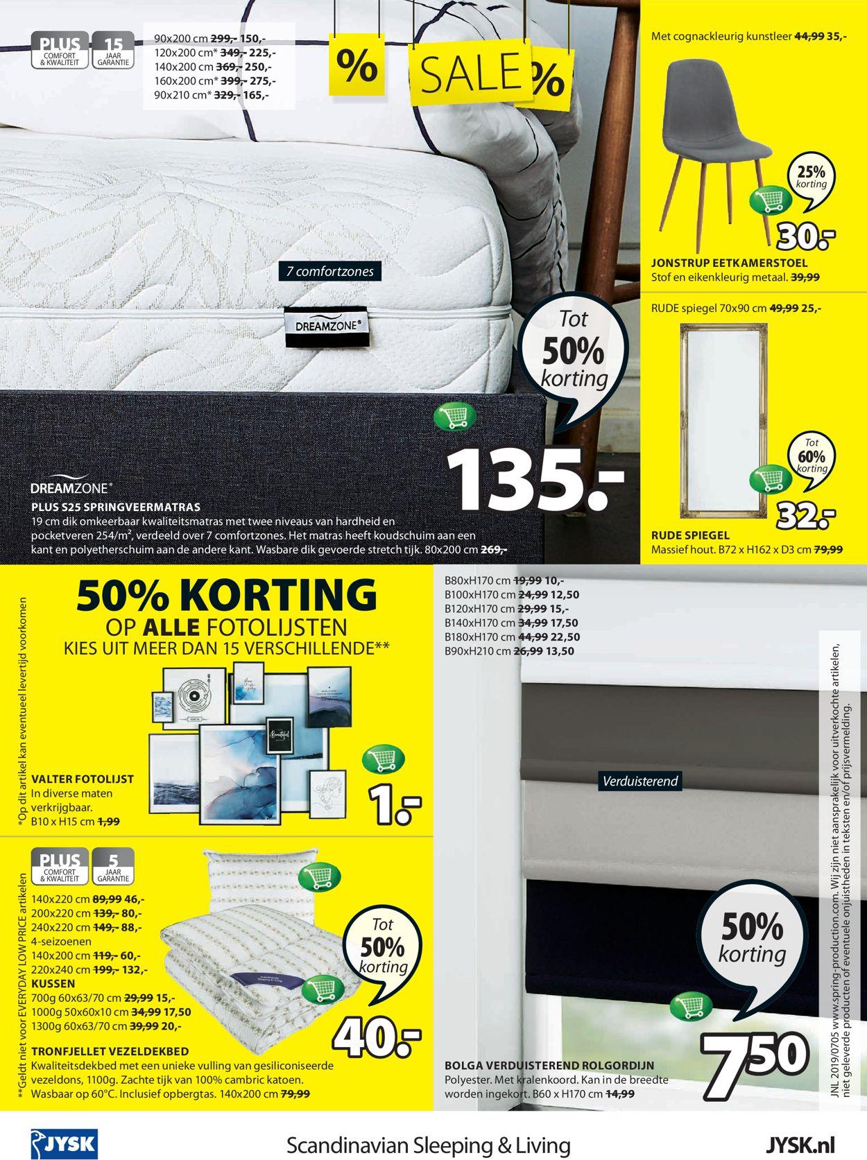 JYSK Folder - 29.07-11.08.2019 (Pagina 16)