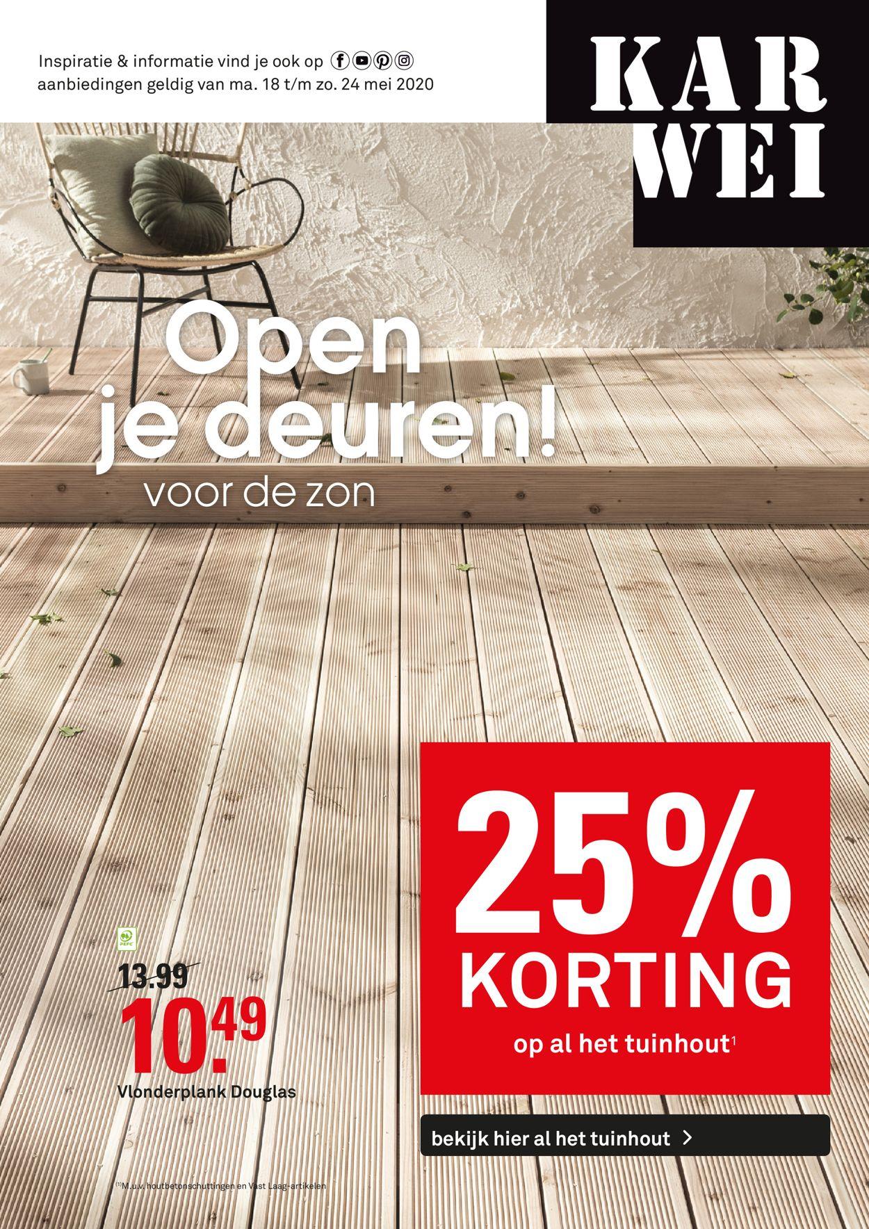 Karwei Folder - 18.05-24.05.2020