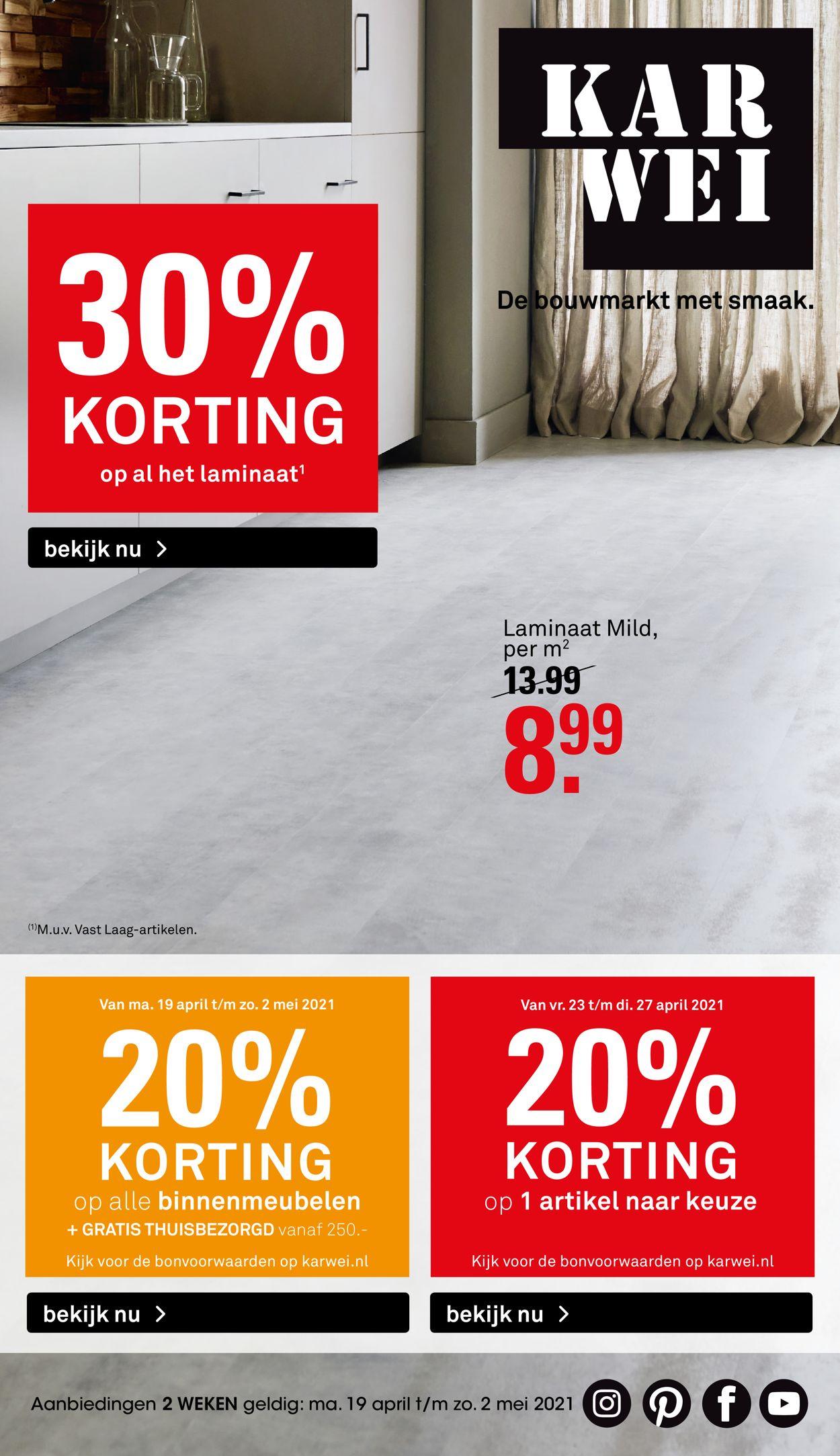 Karwei Folder - 19.04-02.05.2021