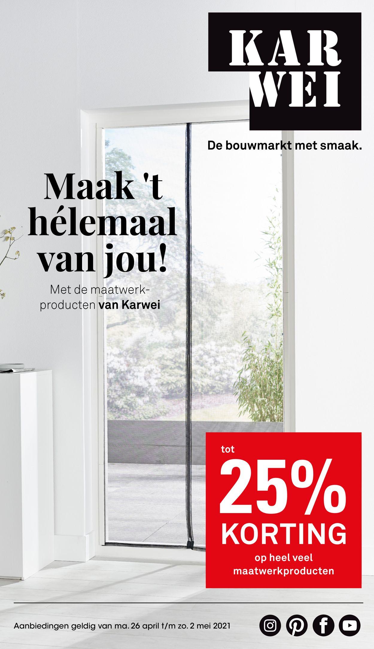 Karwei Folder - 26.04-02.05.2021