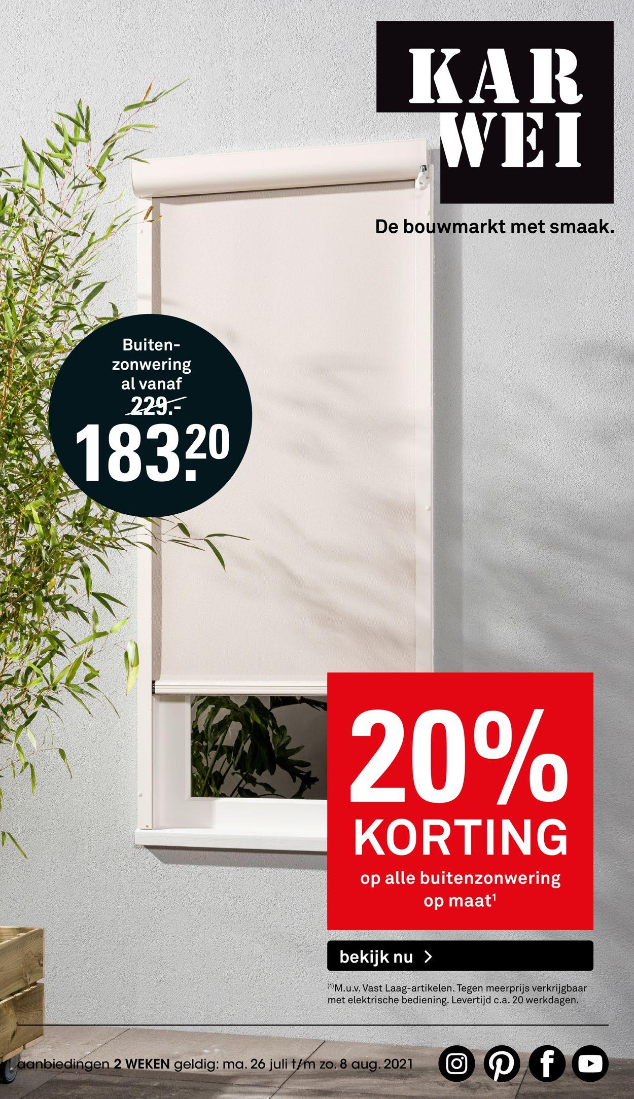 Karwei Folder - 26.07-01.08.2021