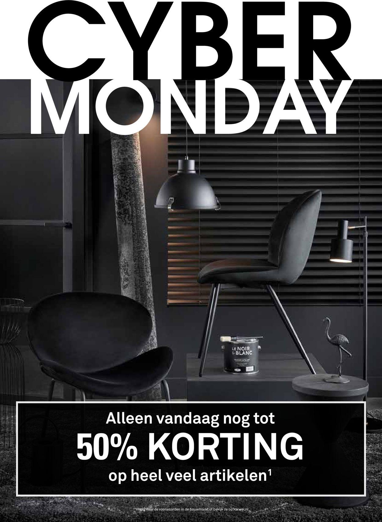 Karwei - Cyber Monday 2019 Folder - 02.12-08.12.2019
