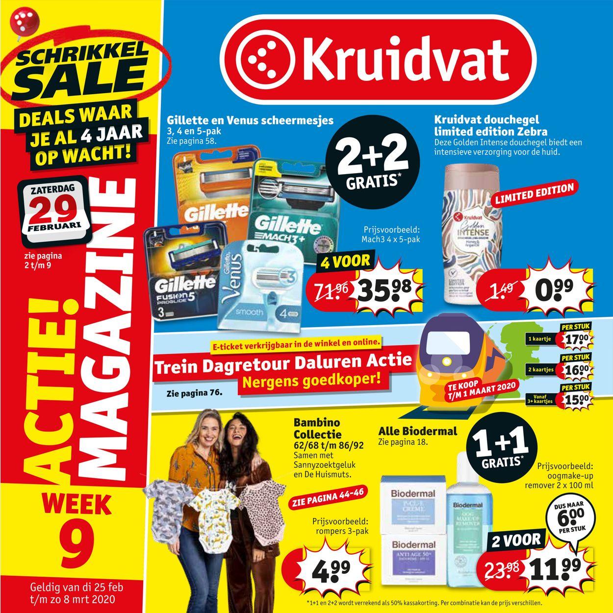 Kruidvat Folder - 25.02-08.03.2020