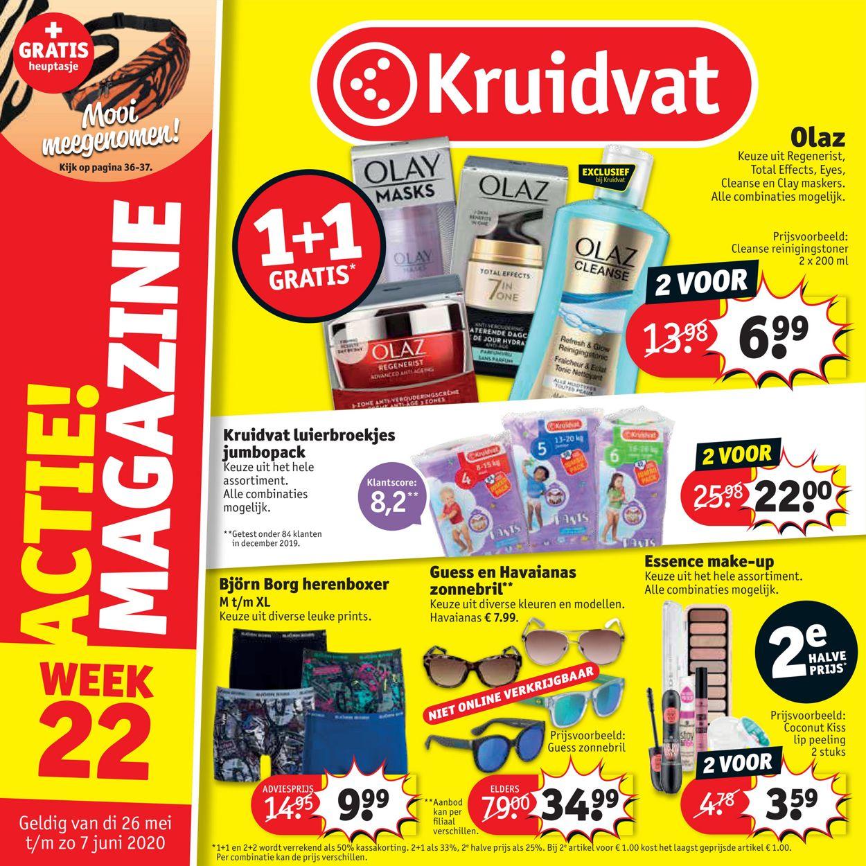 Kruidvat Folder - 26.05-07.06.2020