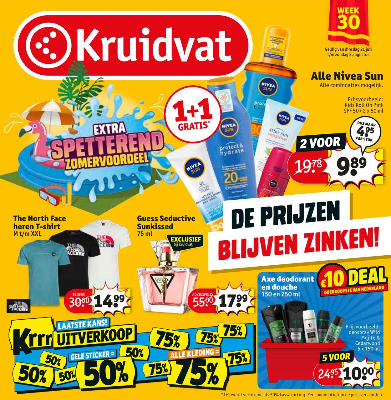 Kruidvat Folder - 21.07-02.08.2020