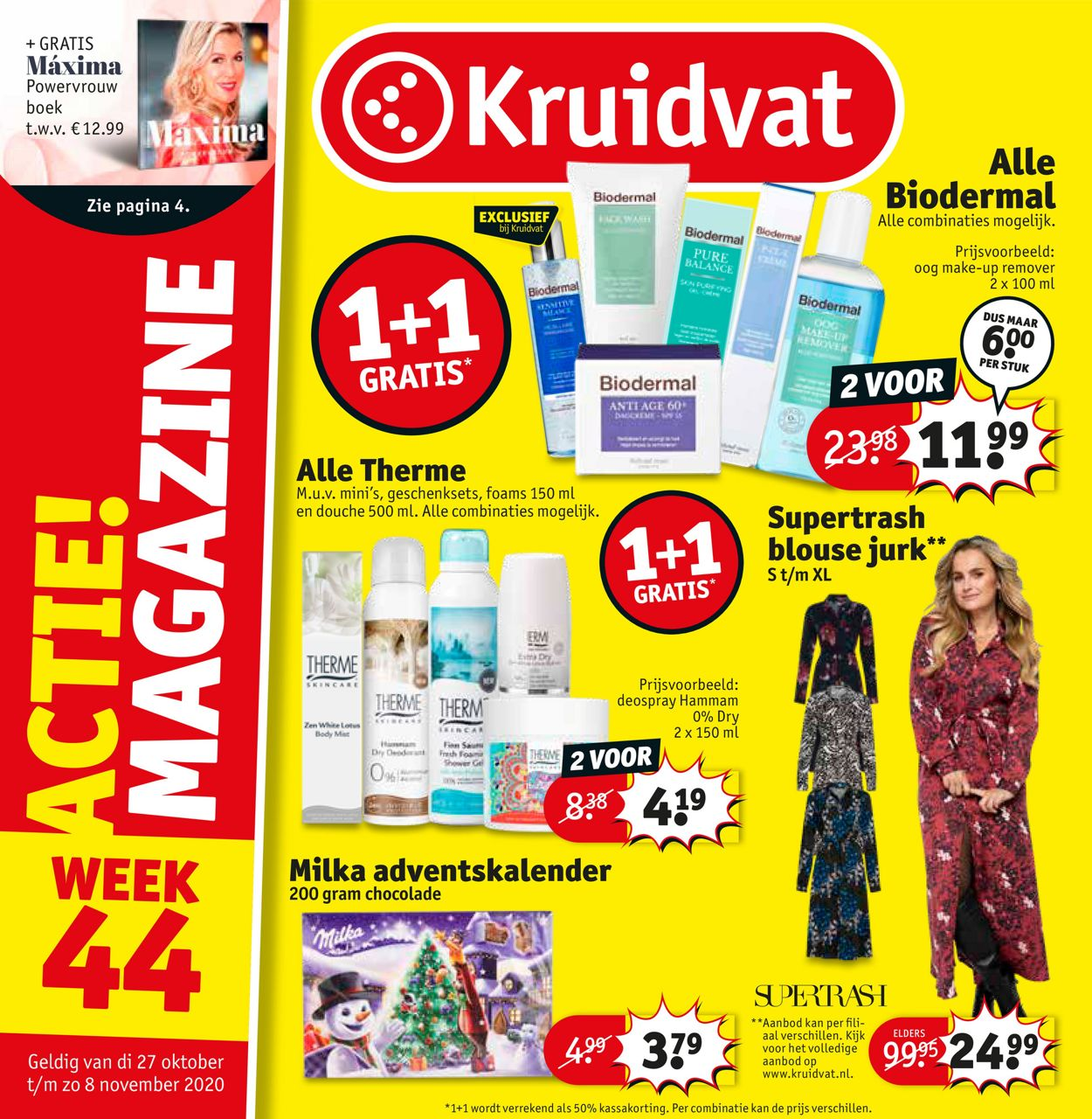 Kruidvat Folder - 27.10-08.11.2020