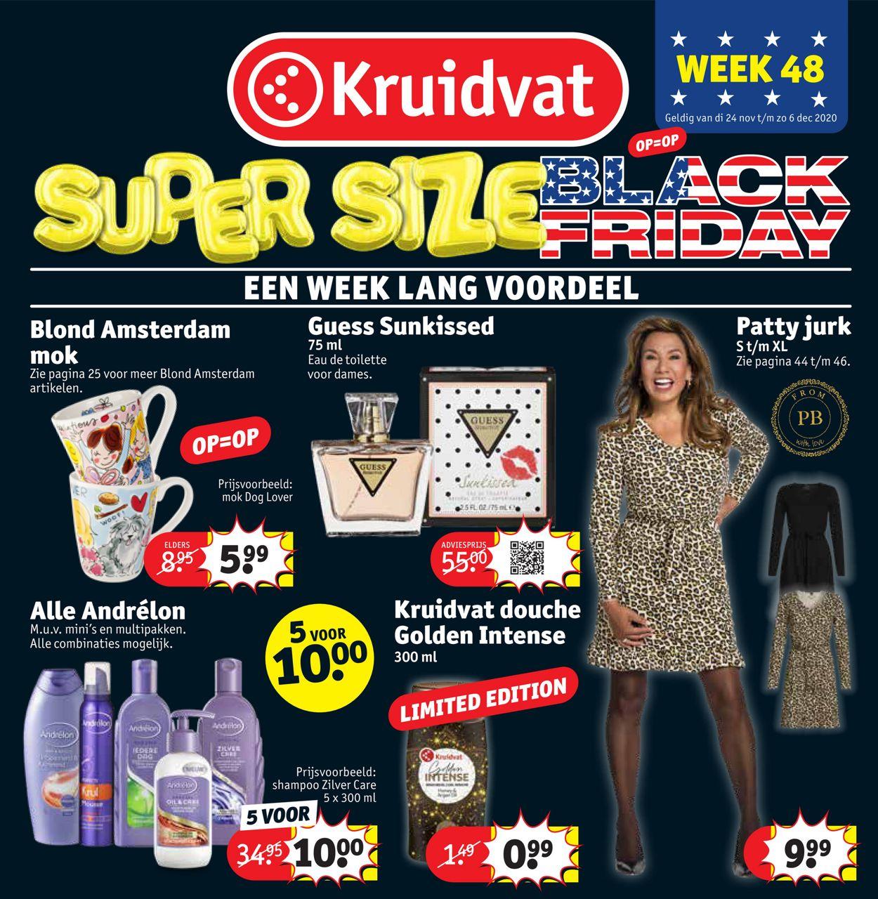 Kruidvat Black Friday 2020 Folder - 24.11-06.12.2020