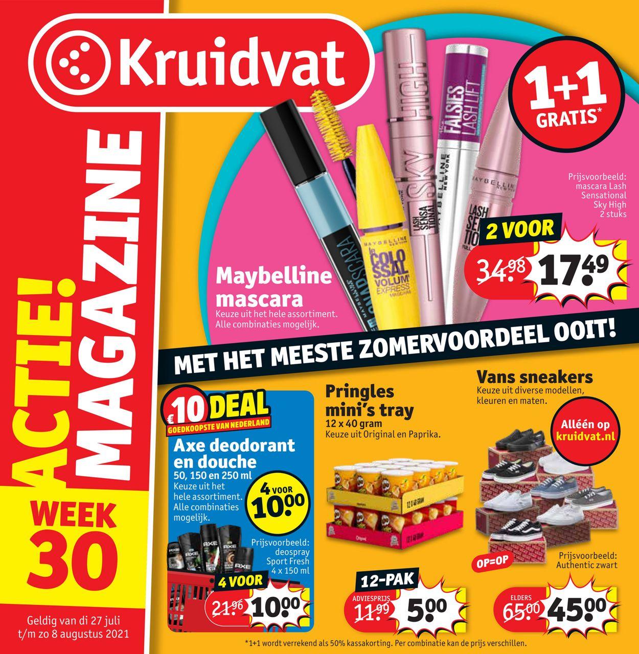 Kruidvat Folder - 26.07-08.08.2021
