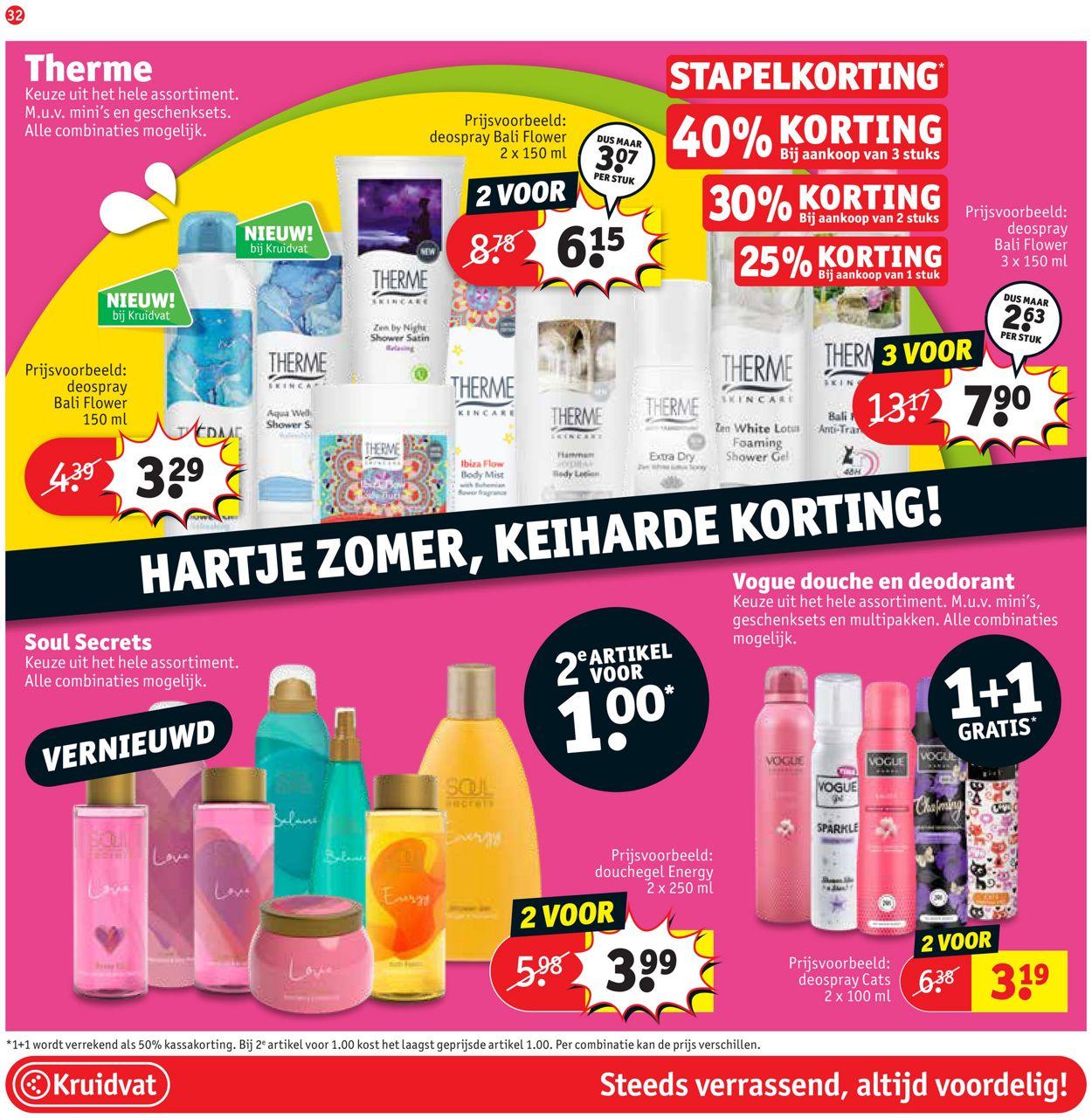 Kruidvat Folder - 26.07-08.08.2021 (Pagina 32)