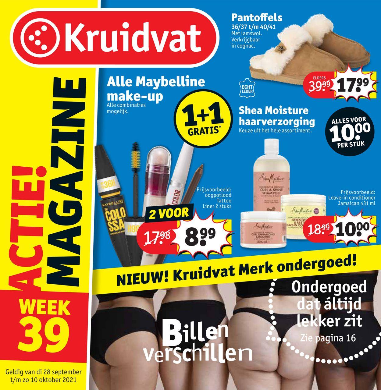 Kruidvat Folder - 27.09-10.10.2021