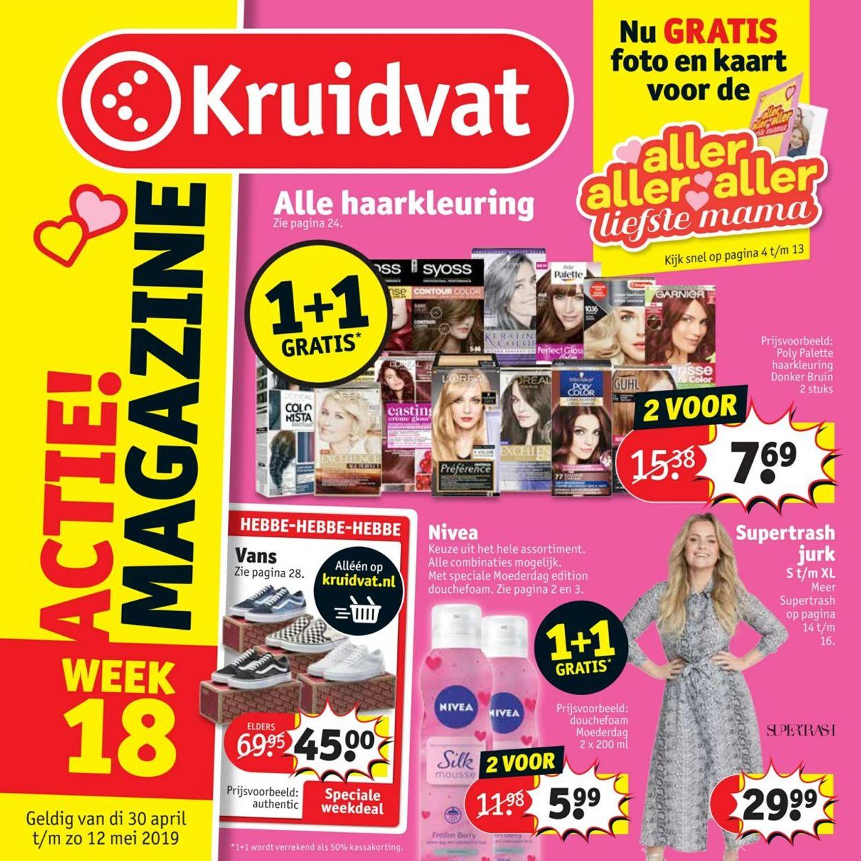 Kruidvat Folder - 30.04-12.05.2019
