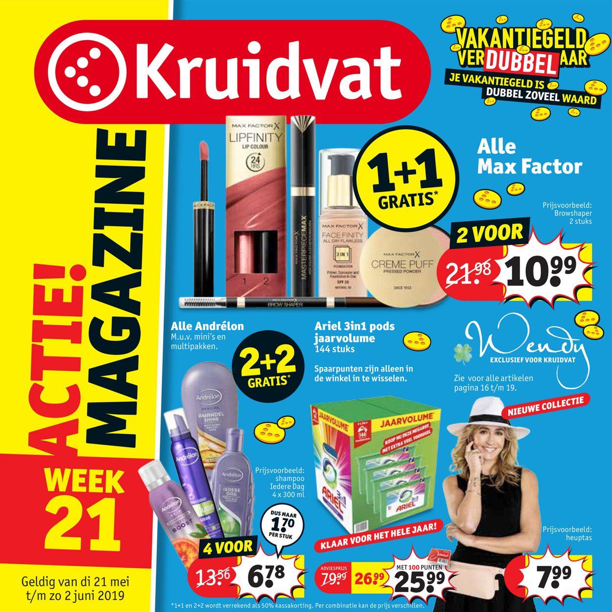 Kruidvat Folder - 21.05-02.06.2019