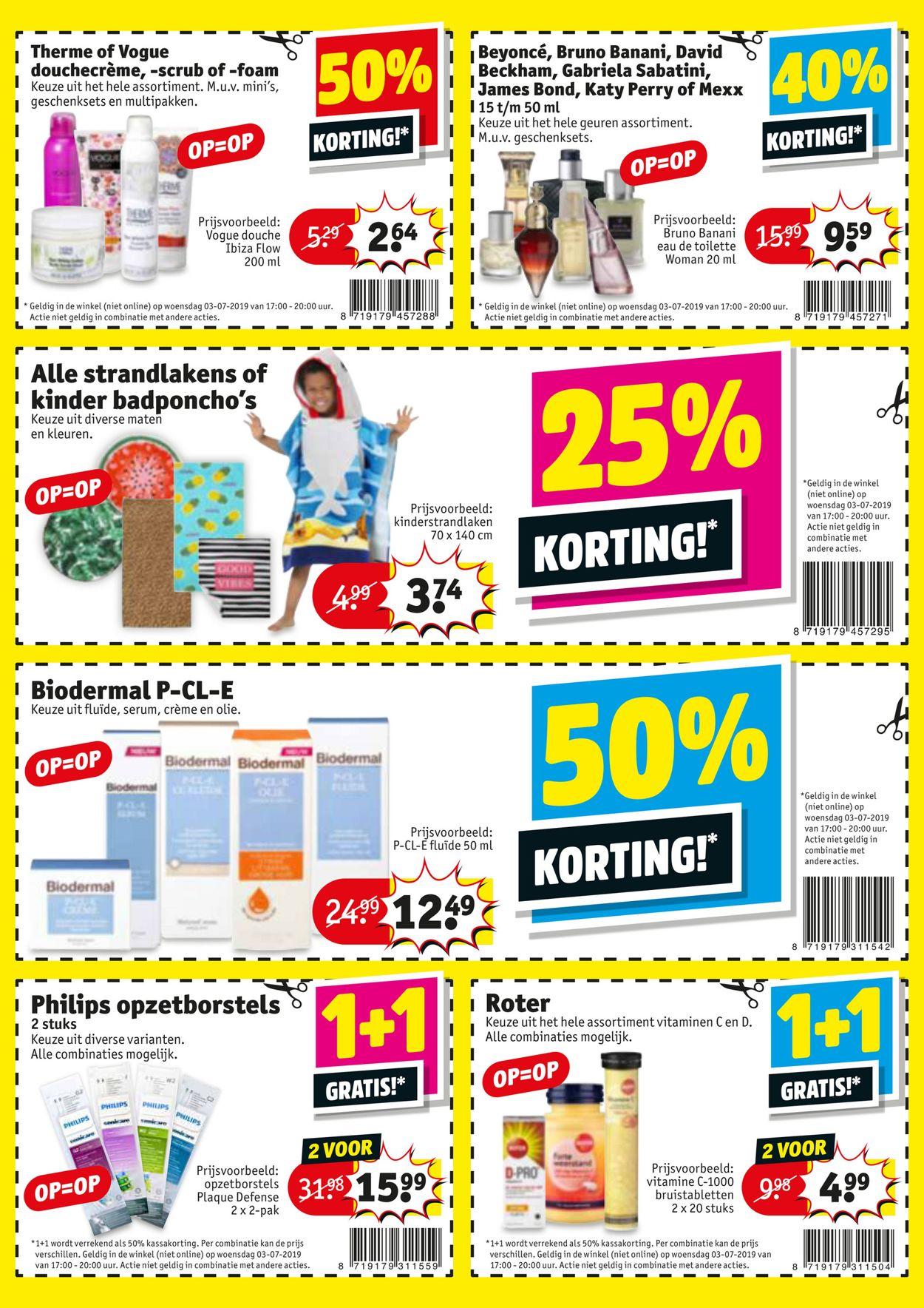 Kruidvat Folder - 03.07-03.07.2019 (Pagina 2)