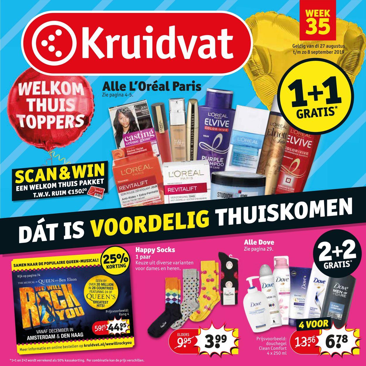 Kruidvat Folder - 27.08-08.09.2019