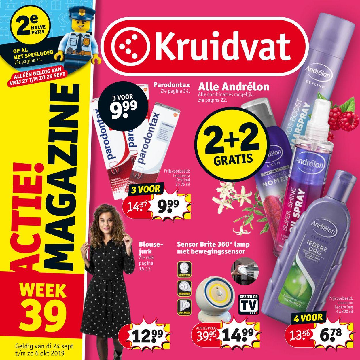 Kruidvat Folder - 24.09-06.10.2019