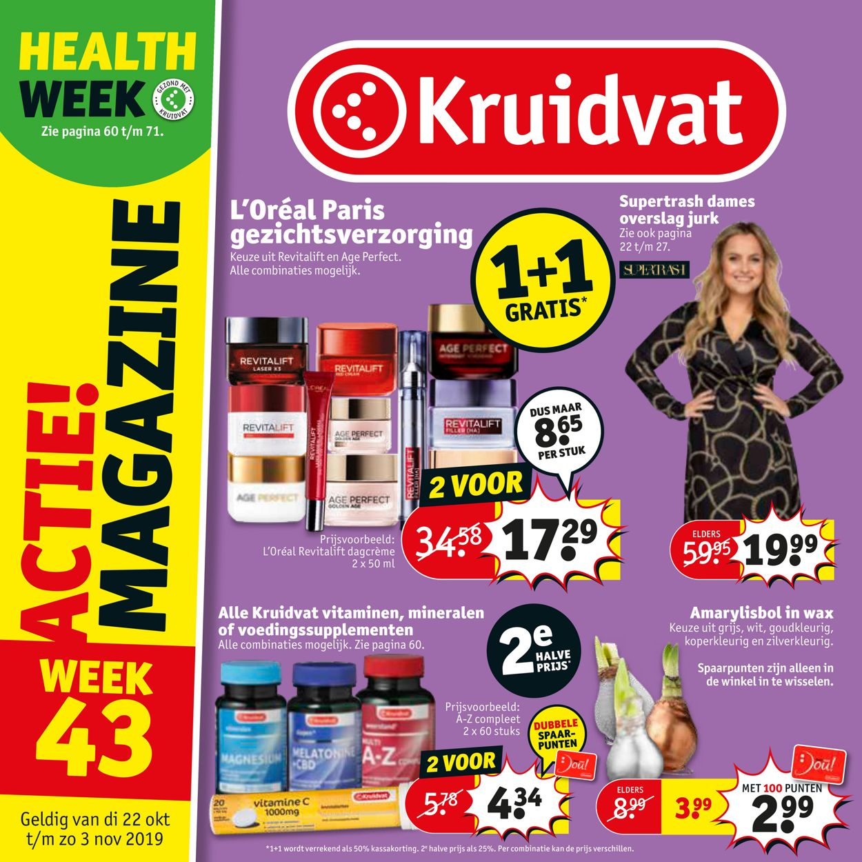 Kruidvat Folder - 22.10-03.11.2019