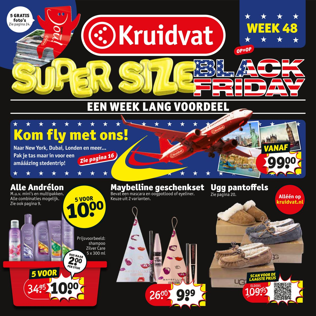 Kruidvat - Black Friday 2019 Folder - 25.11-01.12.2019