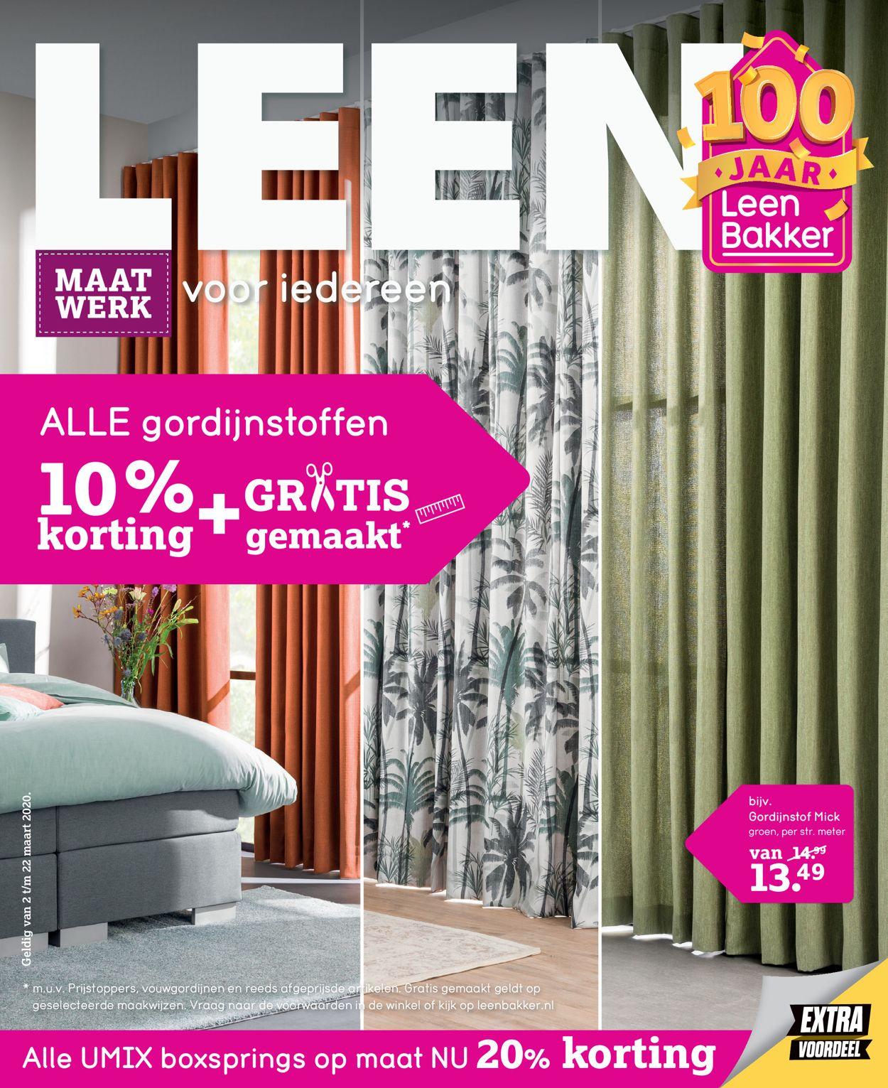 Leen Bakker Folder - 02.03-22.03.2020
