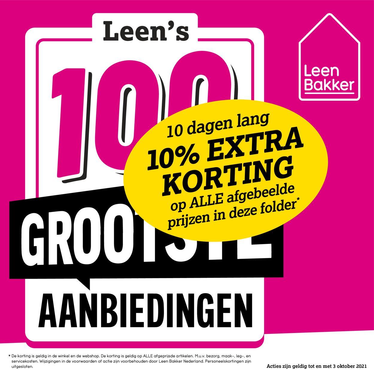 Leen Bakker Folder - 24.09-03.10.2021