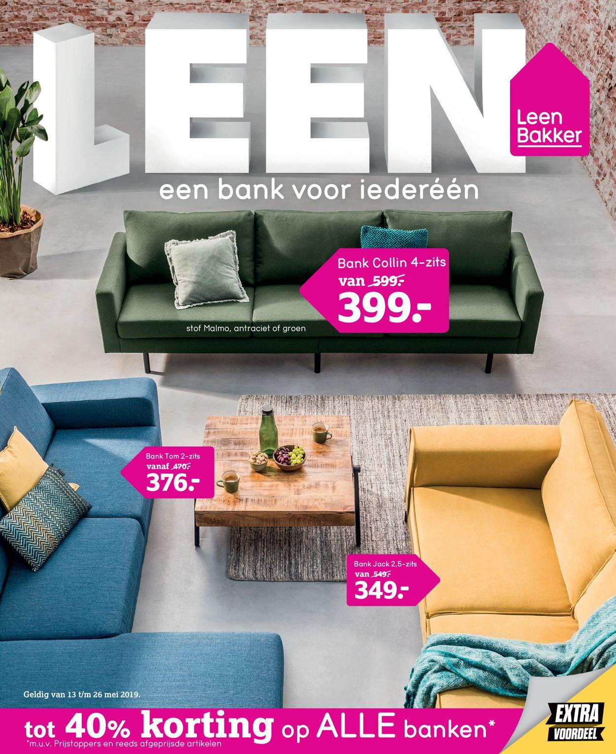 Leen Bakker Folder - 13.05-26.05.2019