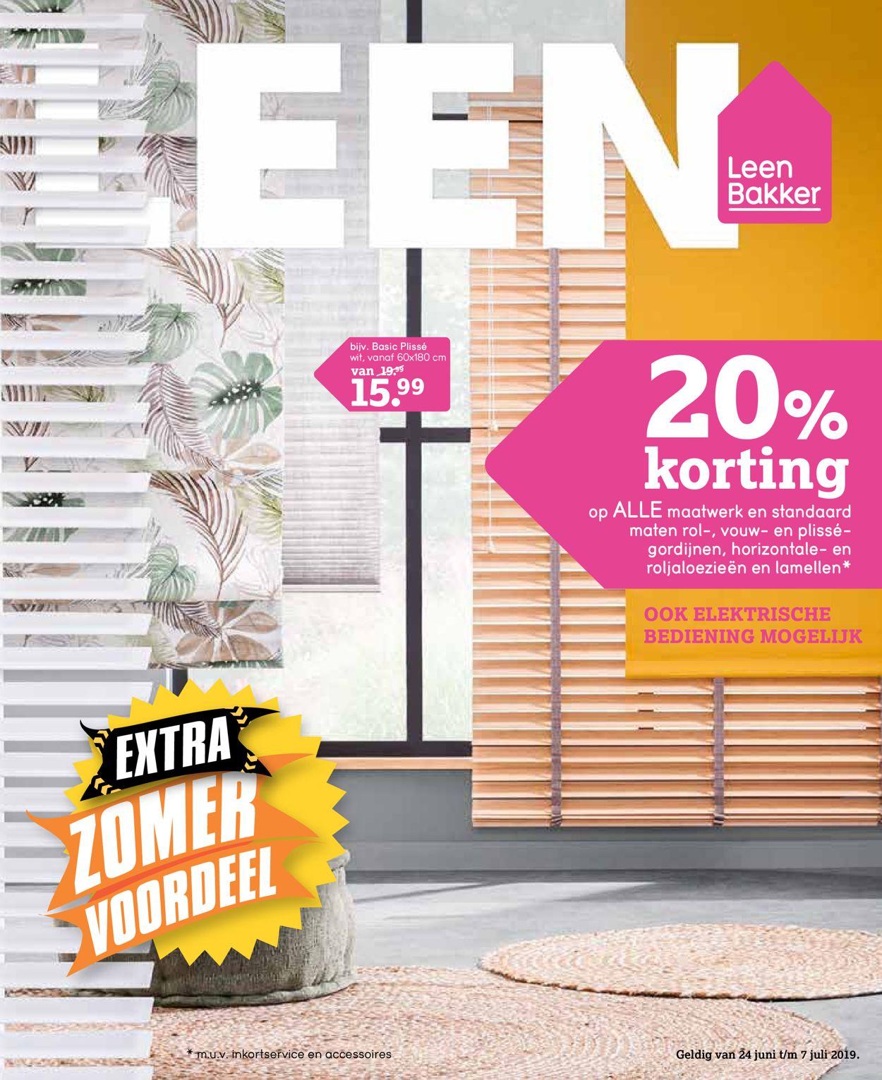 Leen Bakker Folder - 24.06-07.07.2019