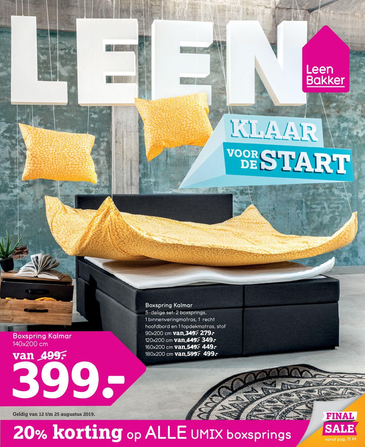 Leen Bakker Folder - 12.08-25.08.2019
