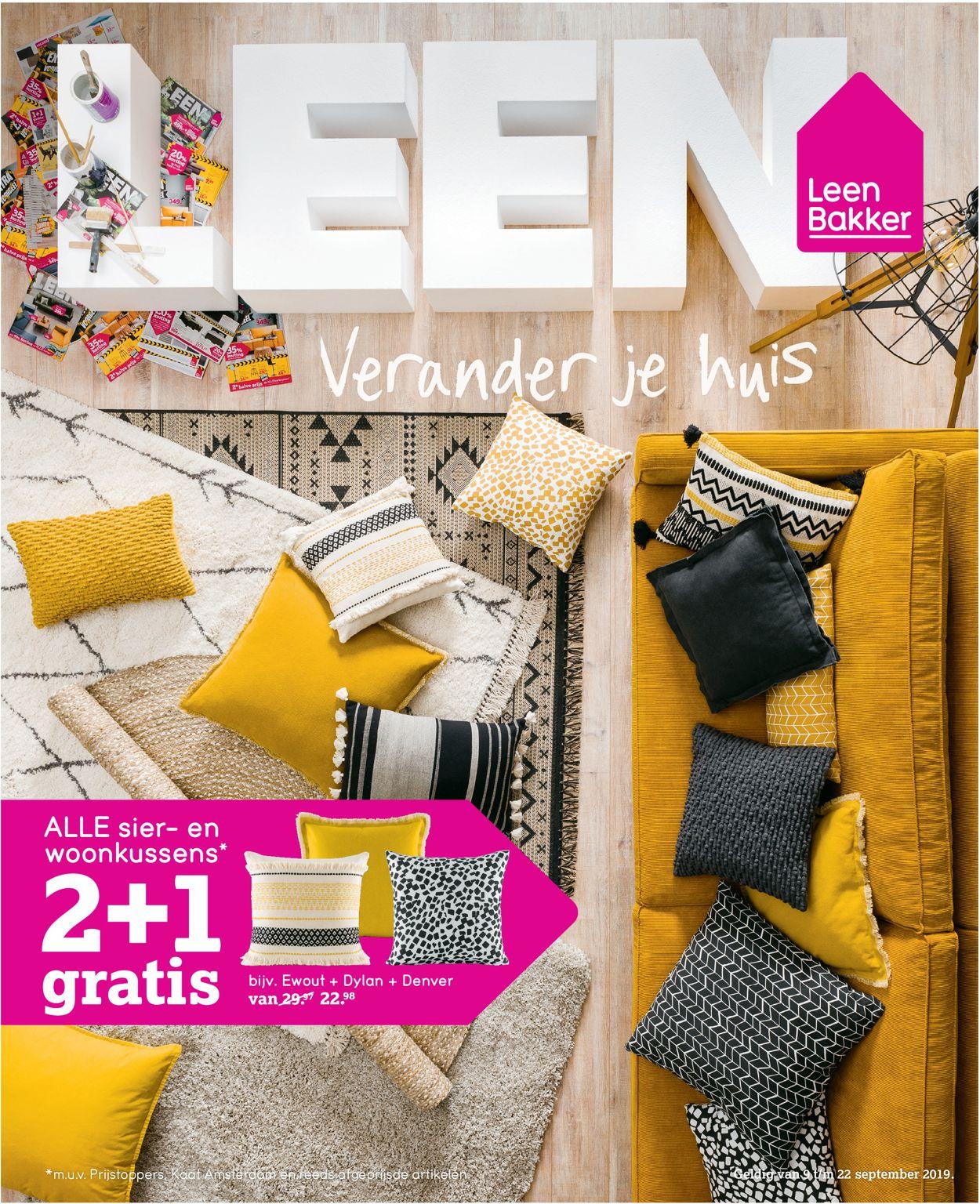 Leen Bakker Folder - 09.09-22.09.2019
