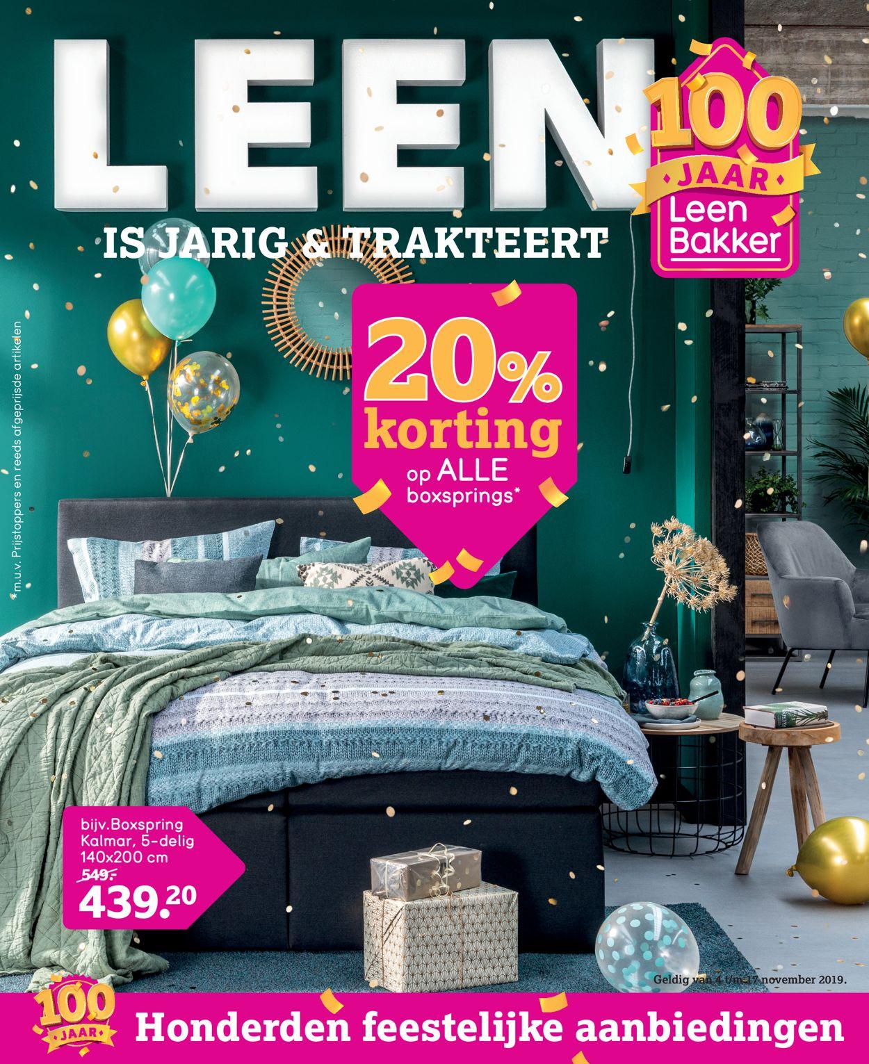 Leen Bakker Folder - 04.11-17.11.2019