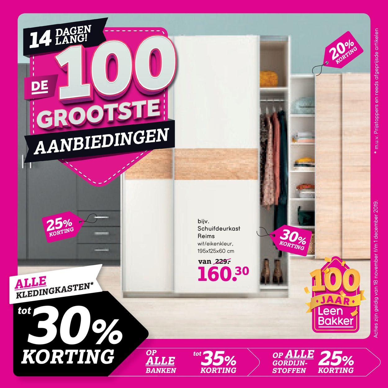 Leen Bakker Folder - 18.11-01.12.2019