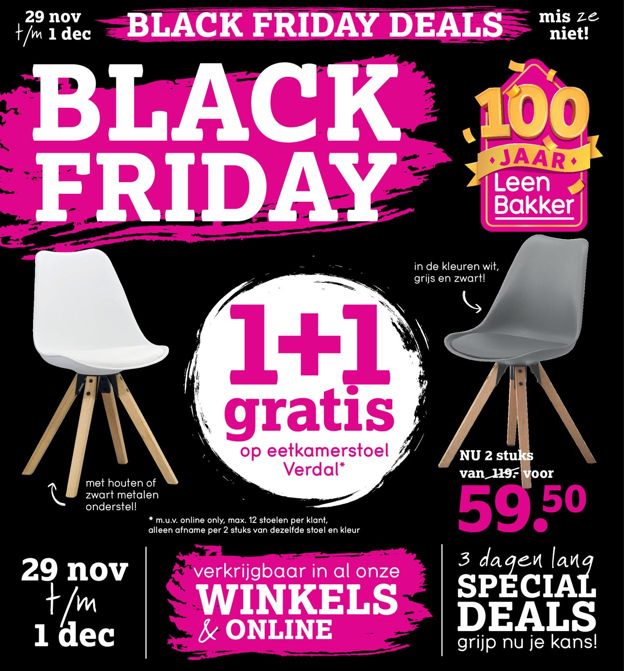 Leen Bakker - BLACK FRIDAY 2019 Folder - 29.11-01.12.2019