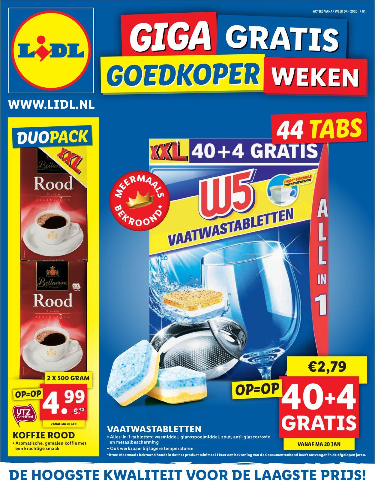 Lidl Folder - 20.01-26.01.2020