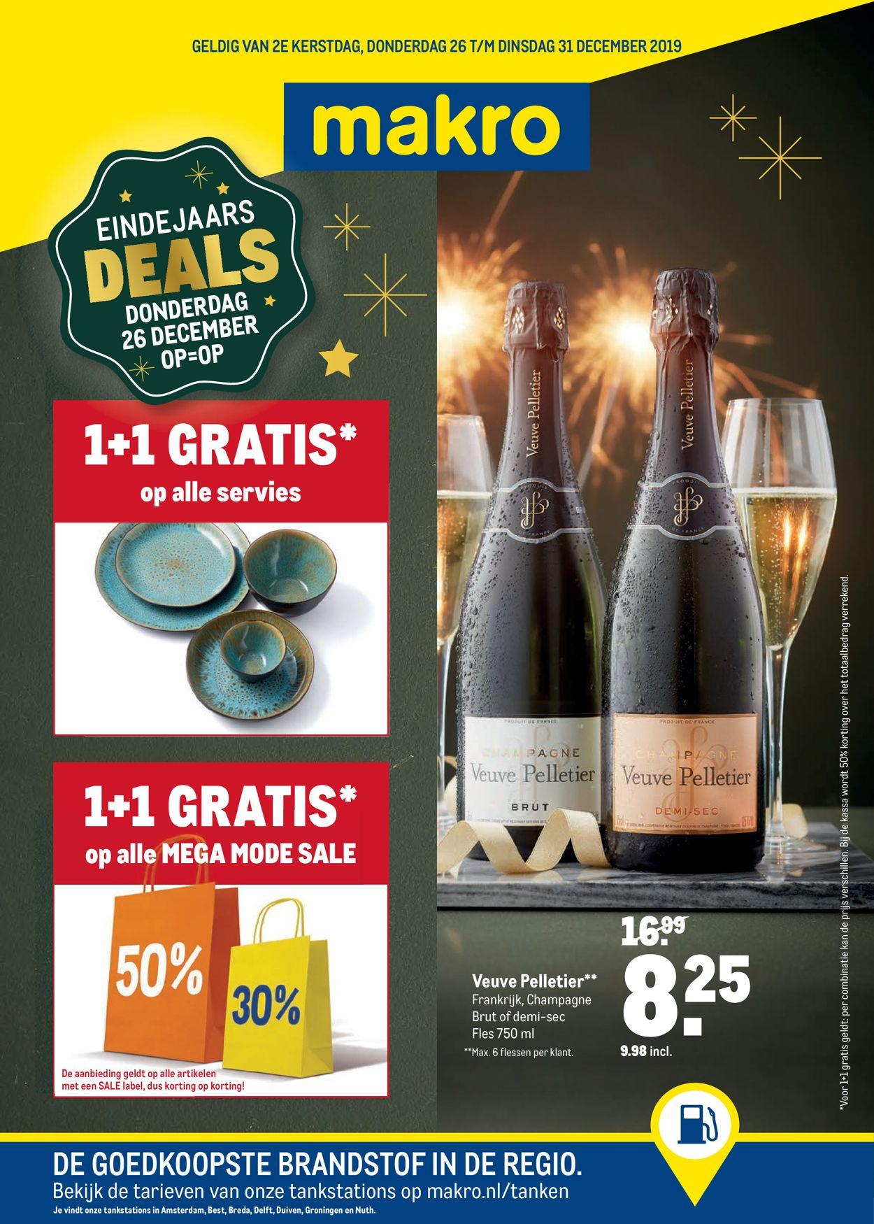 Makro - Einde Jaars Deals 2019 Folder - 26.12-31.12.2019
