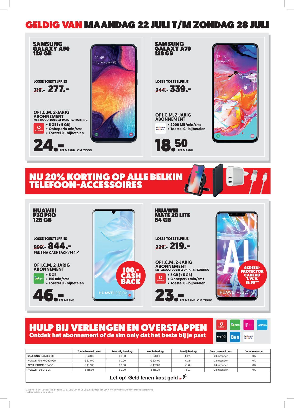 Media Markt Folder - 22.07-28.07.2019 (Pagina 2)