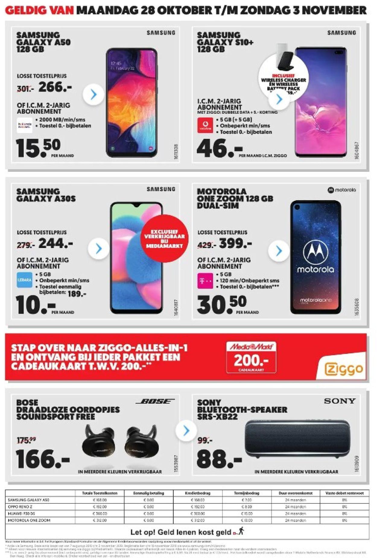 Media Markt Folder - 28.10-03.11.2019 (Pagina 2)