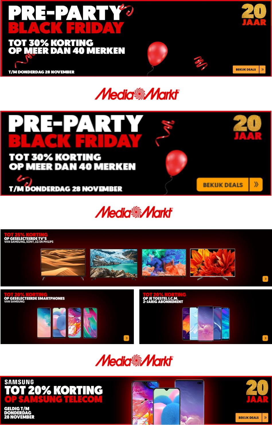 Media Markt - Black Friday 2019 Folder - 28.11-05.12.2019