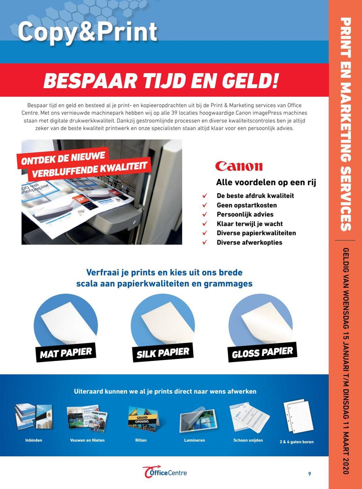 Office Centre Folder - 15.01-11.03.2020